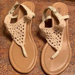Summer wedges sandals